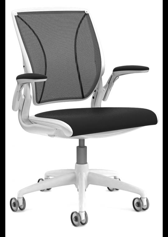 Diffrient World Chair - Black & White