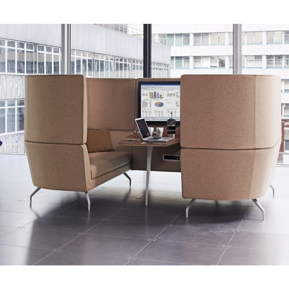 Orangebox Breakout Seating Cwtch Work Pod
