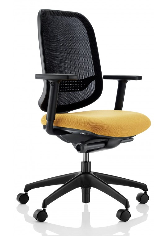 App Task Chair Mesh Back Black Base