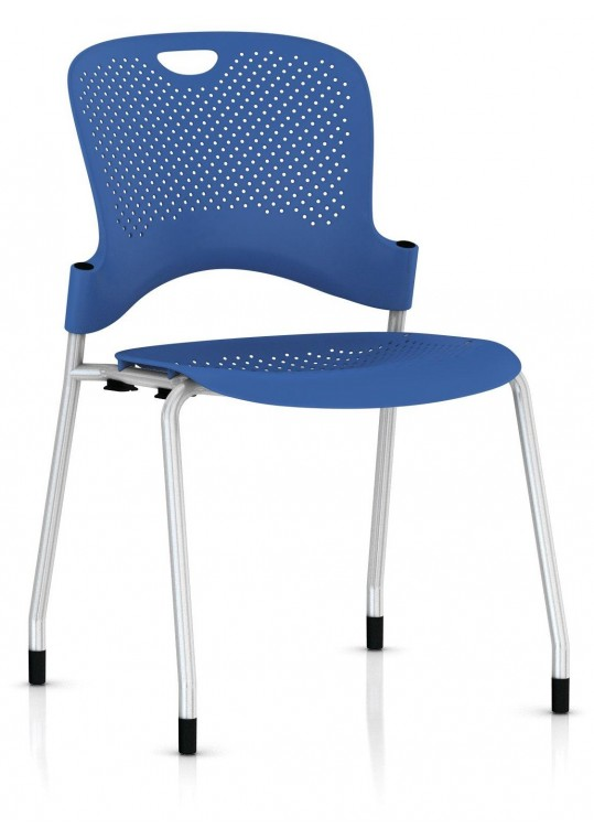 Caper Chair Berry Blue - Stacking