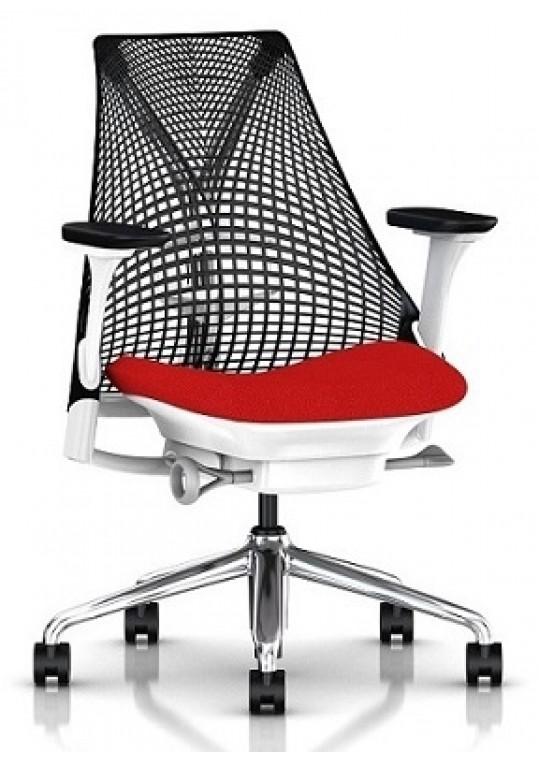 Sayl Chair Belize Seat Fabric Black Back