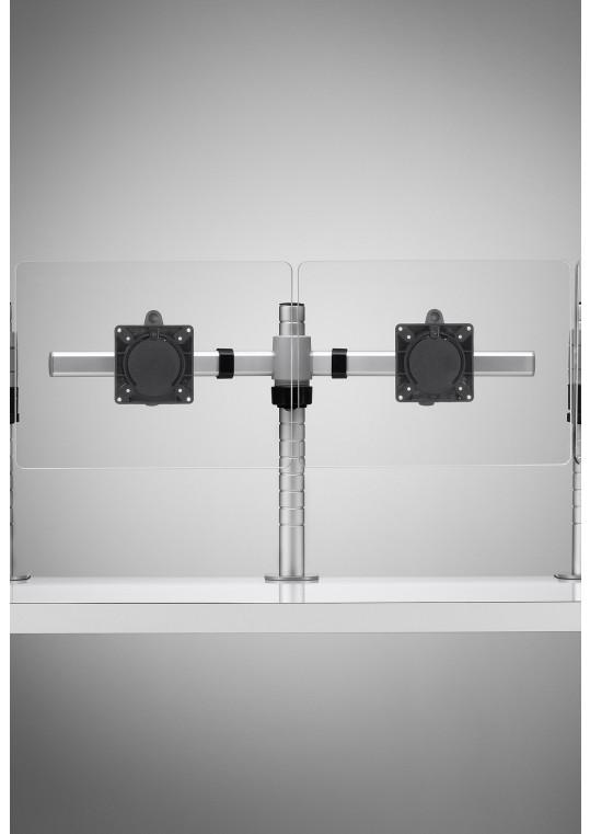 Wishbone Crossbar Double Monitor Solution