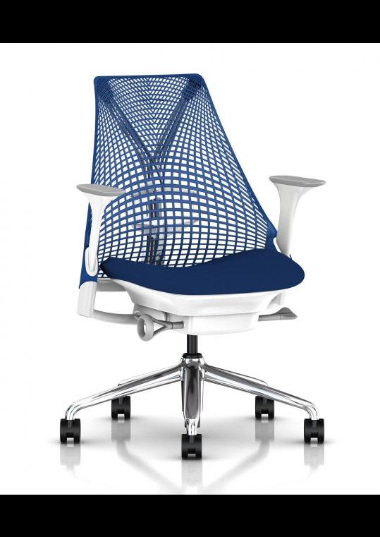 Sayl Task Chair - Blues