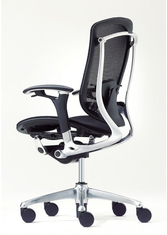 Okamura Contessa Chair Polished Base & Frame