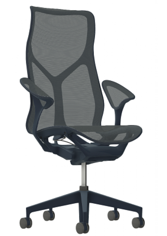 Herman Miller High Back Cosm Chair - Nightfall Side