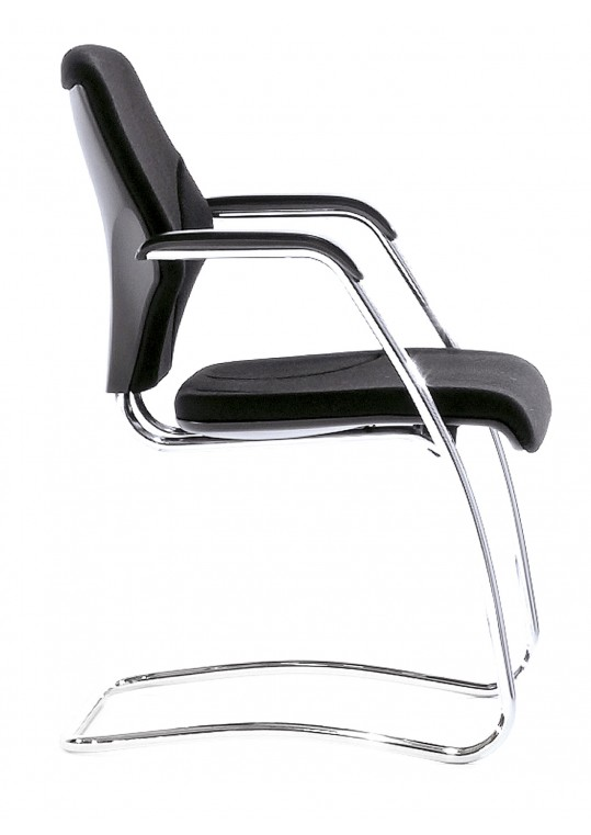 G64-7003 Meeting Chair with Polished Base