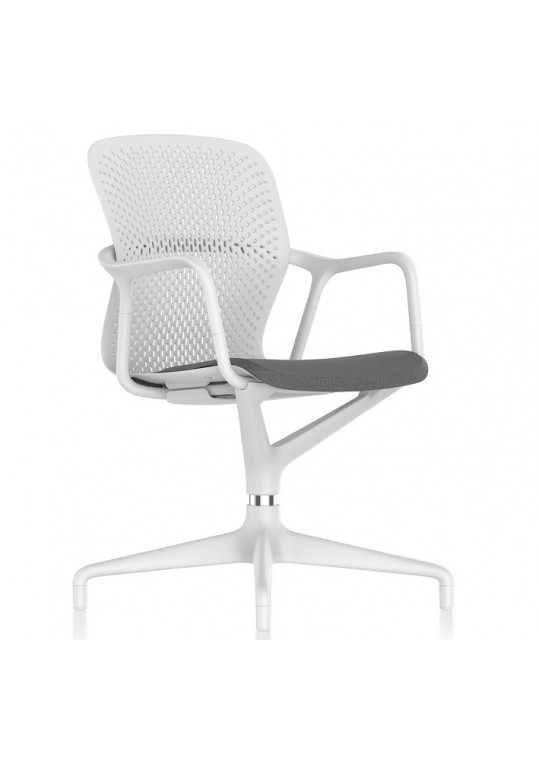 Herman Miller Keyn Swivel Base Chair White