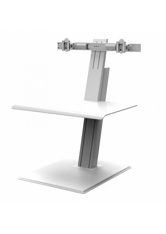 Humanscale Quick Stand ECO Dual White