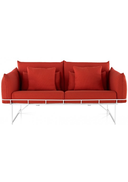 Herman Miller Wireframe Double Sofa