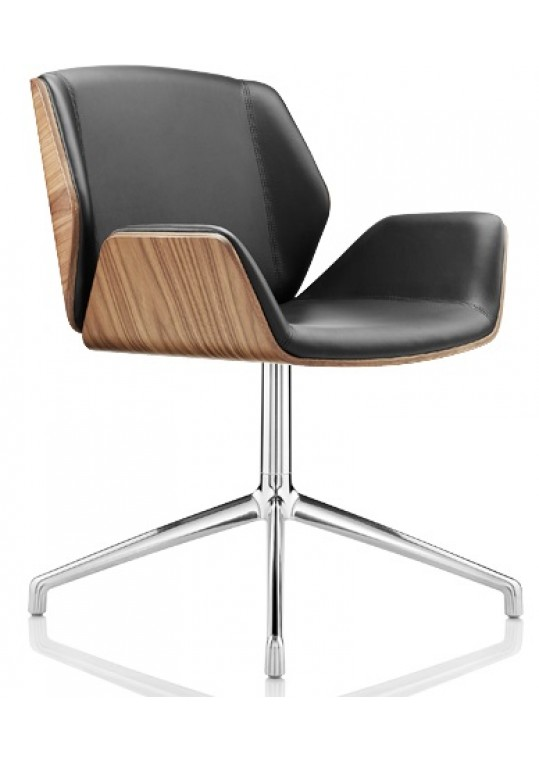 Boss Design Kruze Chair - Leather Upholstery