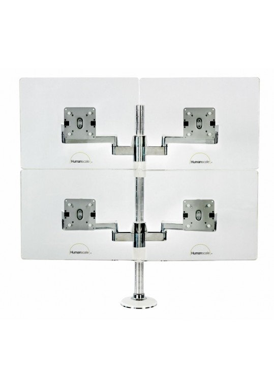 Humanscale MFlex Monitor Support System - Quad