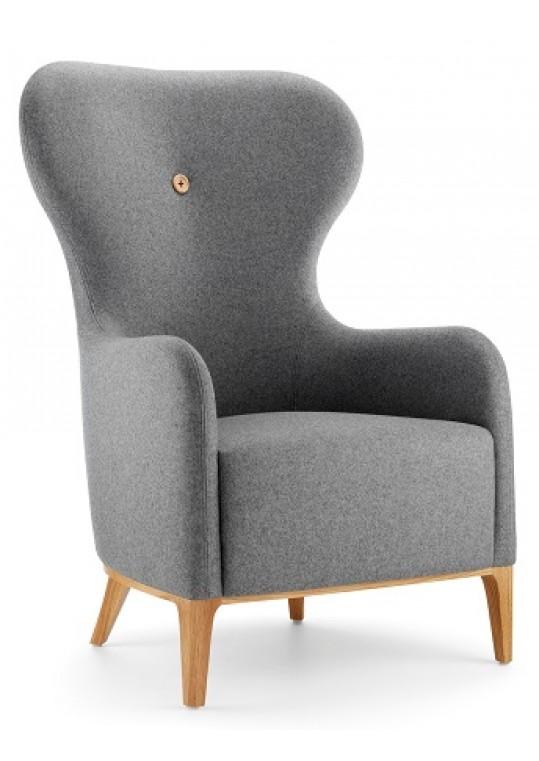 Lyndon Design Mr High Back Wing Chair