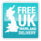 Free Standard Delivery to UK Mianlkand Addresses