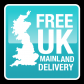 Freee Standard Delivery to UK Mainland Addresses