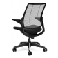 Humanscale Smart Chair Black Edition Rear