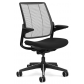 Humanscale Smart Chair Black Edition Side
