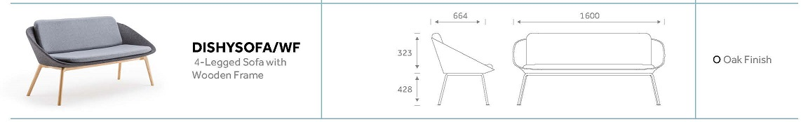 Dishy Sofa Dimensions